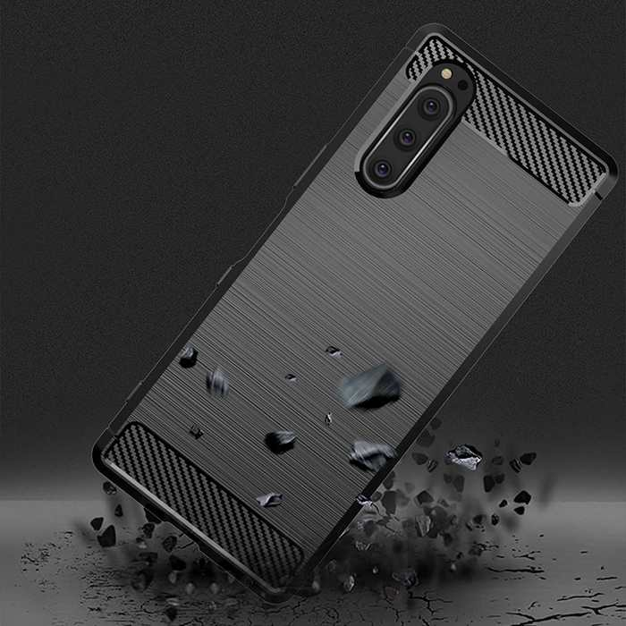 Sony-Xperia-5-II-Case-Silicone-Rugged-Armor-Soft-Cover-Case (1)