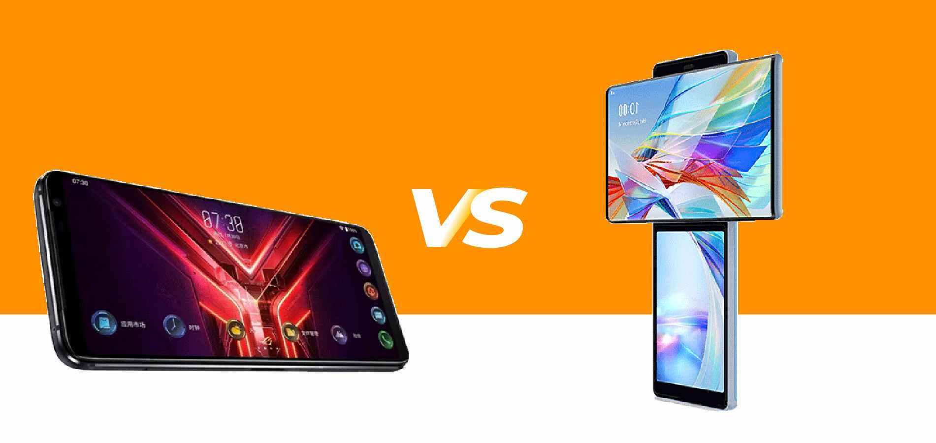 LG Wing vs Asus rog phone 3