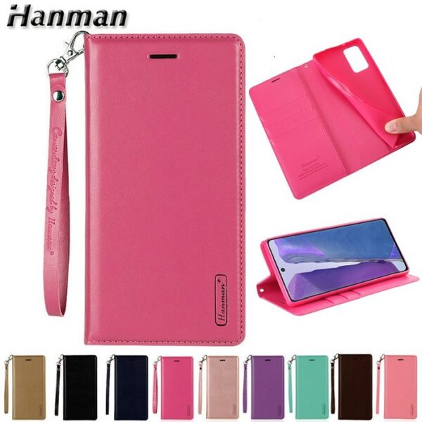 Sony Xperia 1 II Wallet Leather Flip Case by Hanman (1)
