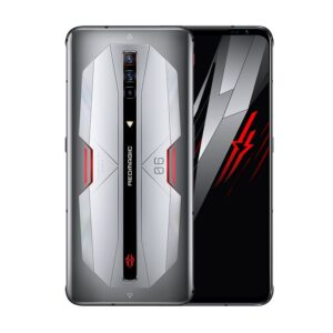 NUBIA RED MAGIC 6 PRO 5G - ALEZAY KUWAIT - MOON SILVER