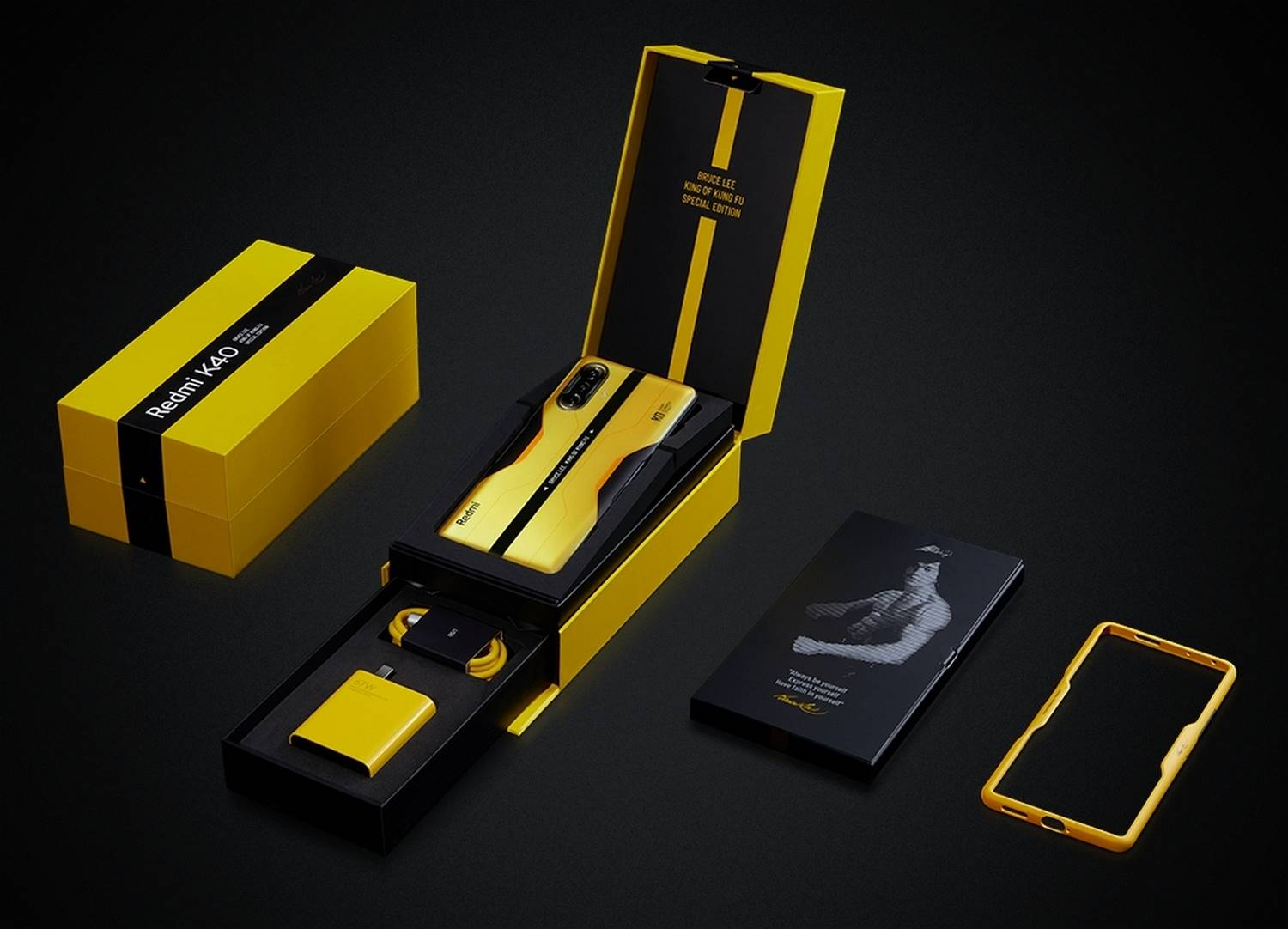 XIAOMI REDMI K40 GAMING EDITION BRUCE LEE SPECIAL EDITION - PACKAGING (1)