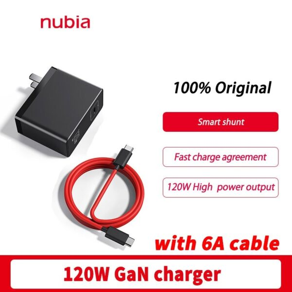 Nubia 120W GaN Quick Charger