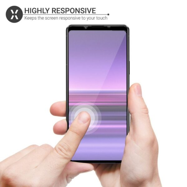 SONY XPERIA 1 III TEMPERED GLASS SCREEN PROTECTOR (3)