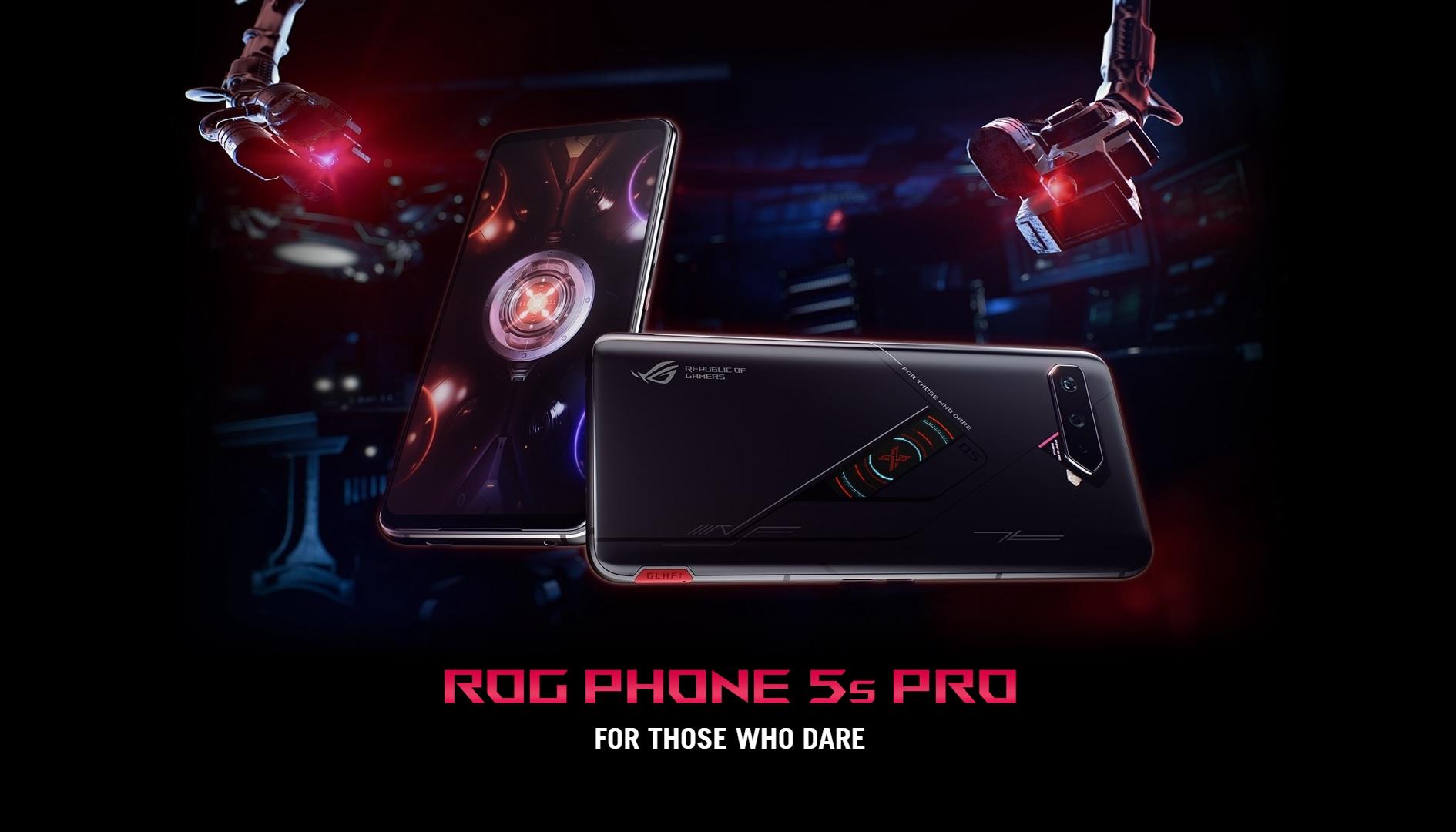 ASUS ROG PHONE 5S PRO MAIN BANNER
