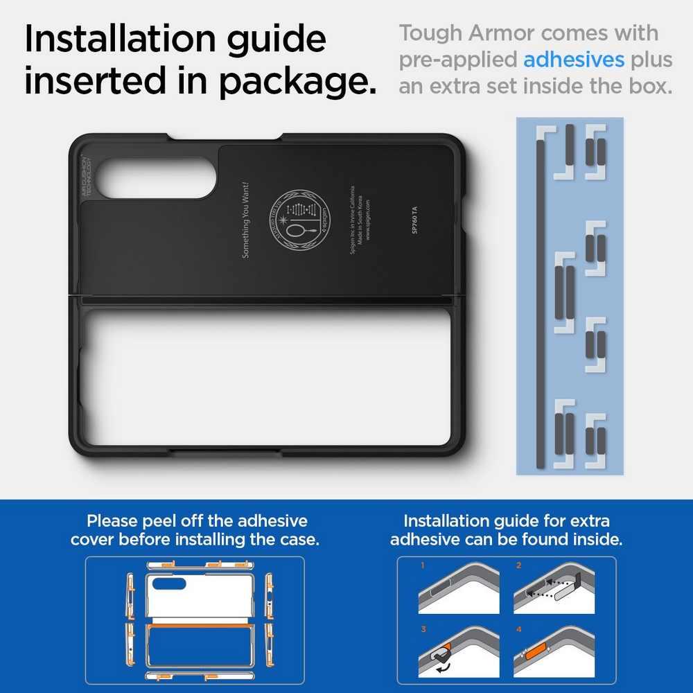 Samsung Galaxy Z Fold 3 Case Tough Armor Spigen (20)