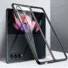Samsung Galaxy Z Fold3 Crystal Clear Transparent Case - Black