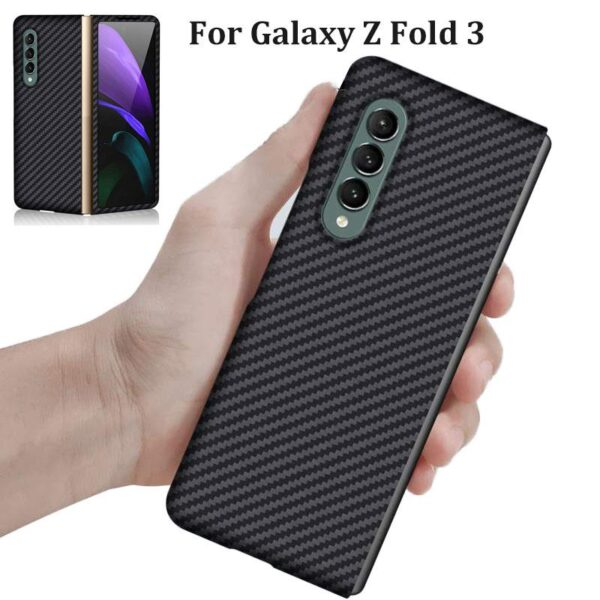 Samsung Galaxy Z Fold3 Luxury Carbon Fiber Case (1)