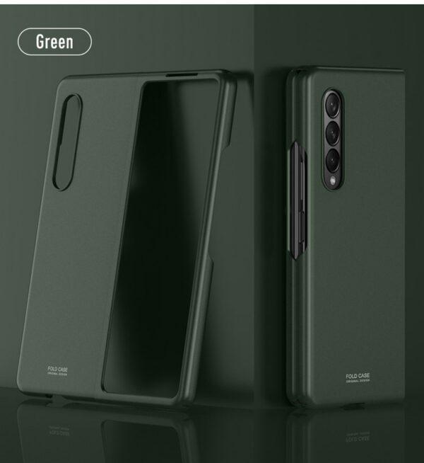 Samsung Galaxy Z Fold3 Soft Feeling Case - Green